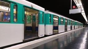 Μετρό του Παρισιού Στοκ Φωτογραφία