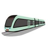 Μετρό τραίνων στοκ φωτογραφία με δικαίωμα ελεύθερης χρήσης