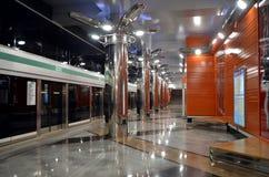 Μετρό των Αγίων Πετρουπόλεων, Ρωσία Στοκ εικόνες με δικαίωμα ελεύθερης χρήσης