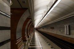 Μετρό, υπόγειος Στοκ φωτογραφία με δικαίωμα ελεύθερης χρήσης