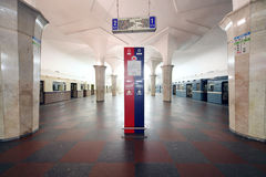 Μετρό Kropotkinskaya σταθμών Στοκ φωτογραφία με δικαίωμα ελεύθερης χρήσης