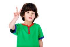 Μετρώντας παιδί Στοκ φωτογραφίες με δικαίωμα ελεύθερης χρήσης