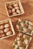 Μετρώντας σύστημα Montessori με τα αυγά στοκ φωτογραφία με δικαίωμα ελεύθερης χρήσης