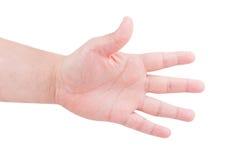 Μετρώντας χέρια ατόμων Στοκ εικόνες με δικαίωμα ελεύθερης χρήσης
