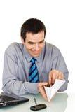 μετρώντας χρήματα επιχειρ&e στοκ εικόνες με δικαίωμα ελεύθερης χρήσης