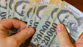 Μετρώντας χρήματα, ουγγρικά Forints φιλμ μικρού μήκους