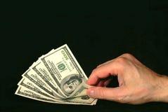 μετρώντας χρήματα Στοκ εικόνα με δικαίωμα ελεύθερης χρήσης