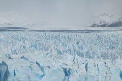 Μετωπική άποψη του Perito Moreno Glacier Στοκ φωτογραφίες με δικαίωμα ελεύθερης χρήσης