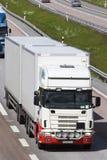 μετωπική όψη truck Στοκ Εικόνες