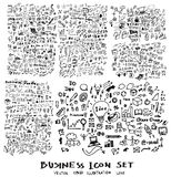 Μελάνι eps10 επιχειρησιακών doodles σκίτσων Στοκ φωτογραφία με δικαίωμα ελεύθερης χρήσης