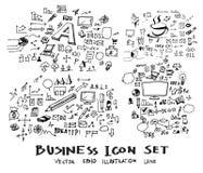 Μελάνι eps10 επιχειρησιακών doodles σκίτσων Στοκ φωτογραφίες με δικαίωμα ελεύθερης χρήσης