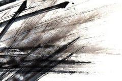 Μελάνι textutre Στοκ Εικόνες