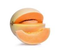 Μελίτωμα melonsunlady που απομονώνει στο λευκό Στοκ εικόνες με δικαίωμα ελεύθερης χρήσης