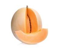 Μελίτωμα melonsunlady που απομονώνει στο λευκό Στοκ Εικόνες