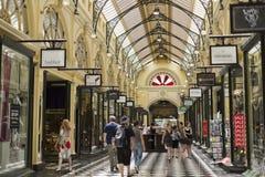 Μελβούρνη βασιλικό Arcade Στοκ εικόνα με δικαίωμα ελεύθερης χρήσης