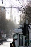 Μελβούρνη Χειμερινό πρωί Στοκ Εικόνα