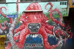 Μελβούρνη Grafittis Στοκ Εικόνες