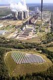 Με κάρβουνο σταθμός παραγωγής ηλεκτρικού ρεύματος Στοκ φωτογραφίες με δικαίωμα ελεύθερης χρήσης