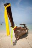Με μακριά ουρά βάρκα στην επαρχία Krabi Στοκ Εικόνες