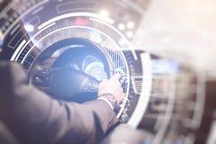 Μελλοντική έννοια τεχνολογιών στοκ εικόνες
