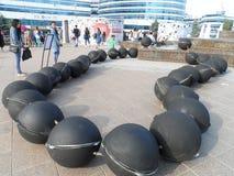Μελλοντική ενέργεια EXPO 2017 διακοσμήσεων Στοκ φωτογραφίες με δικαίωμα ελεύθερης χρήσης
