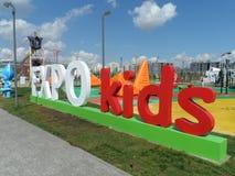 Μελλοντική ενέργεια EXPO 2017 Astana Στοκ φωτογραφία με δικαίωμα ελεύθερης χρήσης