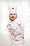 Μελλοντικό αγόρι γιατρών Στοκ Εικόνες