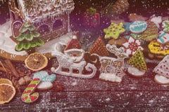 Μελοψώματα για τα νέα έτη και τα Χριστούγεννα Στοκ εικόνες με δικαίωμα ελεύθερης χρήσης