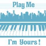 Με παίξτε εγώ είναι δικοί σας ελεύθερη απεικόνιση δικαιώματος