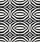 με ραβδώσεις δερμάτων προτύπων Στοκ Φωτογραφία