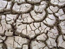 με ρωγμές χώμα Στοκ φωτογραφία με δικαίωμα ελεύθερης χρήσης