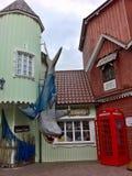 Με τον καρχαρία Στοκ Φωτογραφία