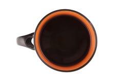 Με το φλιτζάνι του καφέ στοκ εικόνες