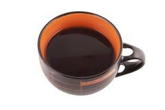 Με το φλιτζάνι του καφέ στοκ φωτογραφία με δικαίωμα ελεύθερης χρήσης