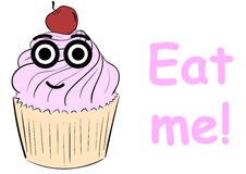 Με φάτε κέικ απεικόνιση αποθεμάτων