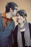 με φιλήστε Στοκ Φωτογραφίες