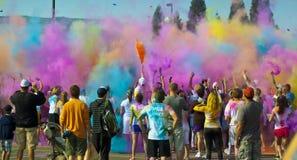 Με χρωματίστε βόμβες χρώματος RAD στοκ εικόνα με δικαίωμα ελεύθερης χρήσης