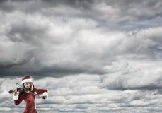 Μελωδία του ερχομού Χριστουγέννων Στοκ Εικόνα