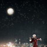 Μελωδία του ερχομού Χριστουγέννων Στοκ φωτογραφία με δικαίωμα ελεύθερης χρήσης