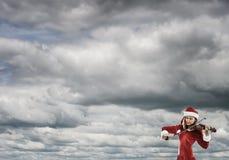 Μελωδία του ερχομού Χριστουγέννων Στοκ Εικόνες