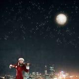 Μελωδία του ερχομού Χριστουγέννων Στοκ Φωτογραφίες