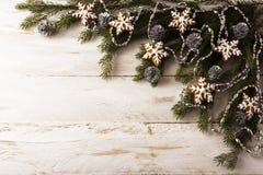 μελόψωμο έλατου κλάδων Στοκ Φωτογραφία