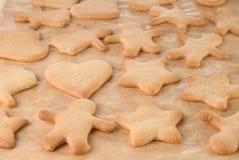 μελόψωμο μπισκότων σπιτικό Στοκ Φωτογραφίες