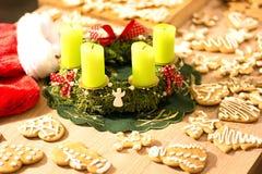 Μελόψωμο 4 Χριστουγέννων Στοκ φωτογραφία με δικαίωμα ελεύθερης χρήσης