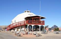 Μηδέν-ενεργειακό σπίτι (Utah/USA) στοκ εικόνες