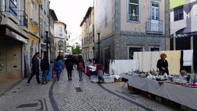 Μηνιαία παζαριών οδών στο Αβέιρο, Πορτογαλία φιλμ μικρού μήκους