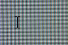 μηνύτορας δρομέων LCD υπολο Στοκ Εικόνες