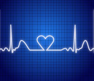 μηνύτορας καρδιών διανυσματική απεικόνιση