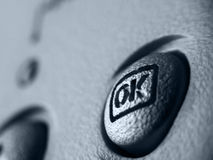μηνύτορας κουμπιών στοκ εικόνες