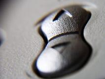 μηνύτορας κουμπιών στοκ φωτογραφία